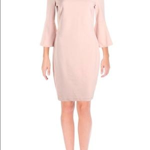 🆕 Calvin Klein Bell Sleeve Sheath Dress
